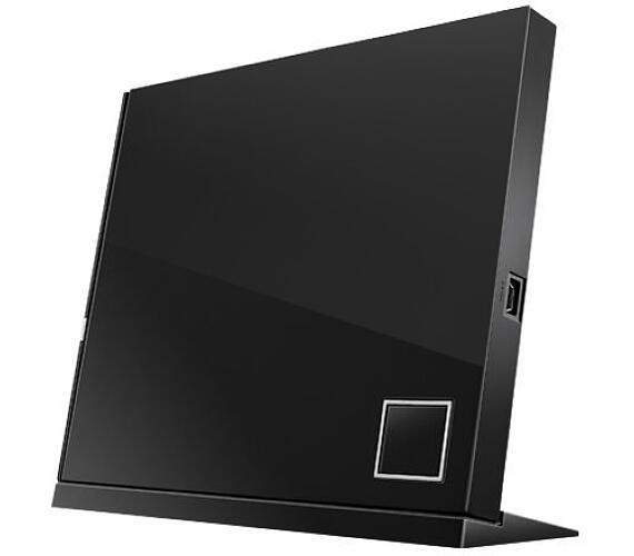 ASUS SBW-06D2X-U BLACK externí slim BD-RW + bitdefender IS (90-DT20305-UA151KZ) + DOPRAVA ZDARMA