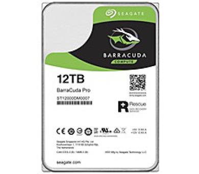 """SEAGATE HDD BARRACUDA PRO 3,5"""" - 12TB"""