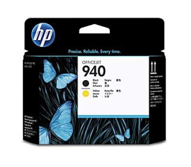 Inkoustová náplň HP No. 940 originální - černá/žlutá + DOPRAVA ZDARMA