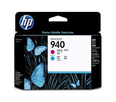 Inkoustová náplň HP No. 940 originální - červená/modrá + DOPRAVA ZDARMA