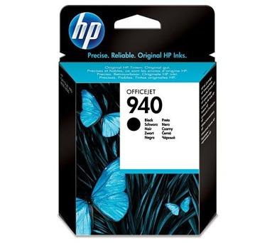 Inkoustová náplň HP No. 940 originální - černá + DOPRAVA ZDARMA