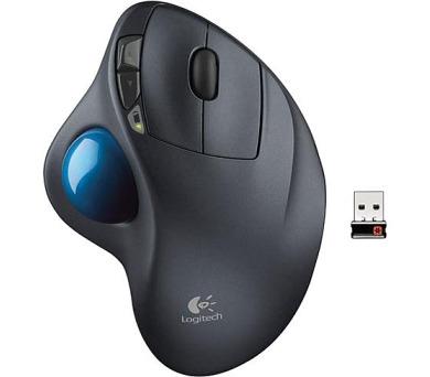 Logitech Wireless Mouse M570 / optická / 5 tlačítek / 2400dpi - černá + DOPRAVA ZDARMA