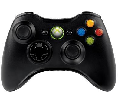 Microsoft Xbox 360 Wireless Controller - černý + DOPRAVA ZDARMA