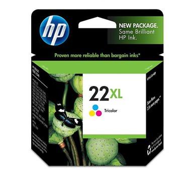 Inkoustová náplň HP No. 22XL + DOPRAVA ZDARMA