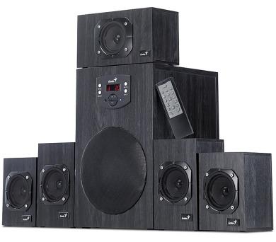 Genius SW-HF 4500 5.1 - černé + DOPRAVA ZDARMA