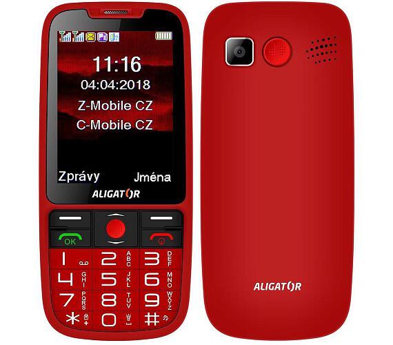 ALIGATOR A890 Senior červený (A890RD)