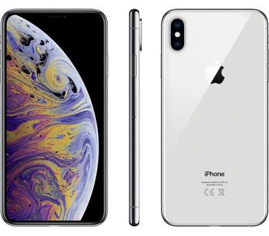 Mobilní telefon iPhone XS 64GB stříbrný