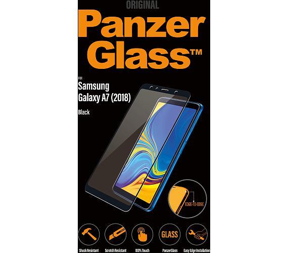 PanzerGlass Edge to Edge pro Samsung Galaxy A7 transparentní + DOPRAVA ZDARMA