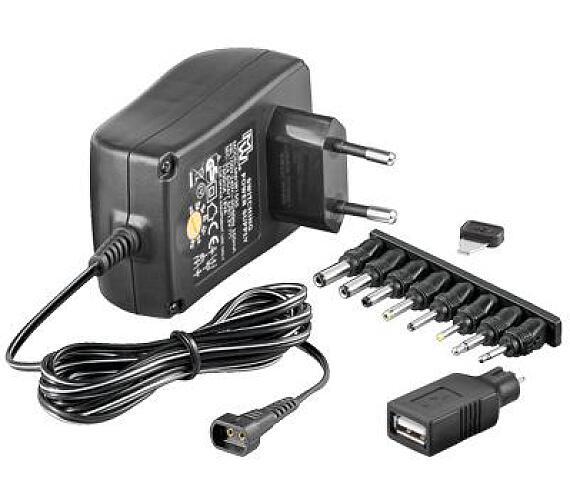 Univerzální napájecí adaptér 230V/3-12V (ppadapter-01)