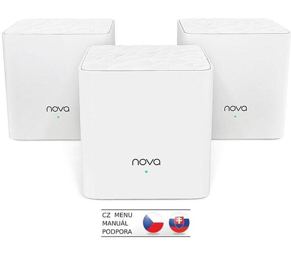 Tenda Nova MW3 (3-pack) WiFi AC1200 Mesh system Dual Band + DOPRAVA ZDARMA