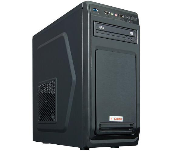 HAL3000 Enterprice 200GE / AMD Athlon 200GE/ 4GB/ 240GB SSD/ DVD/ W10 (PCHS2301)