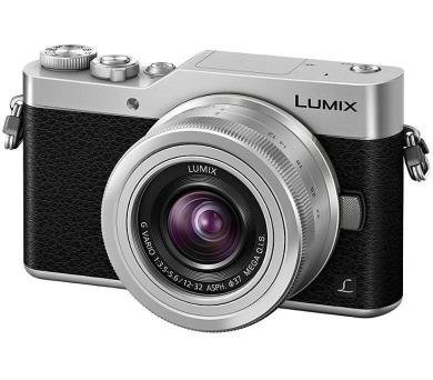 Panasonic Lumix DC-GX800 + 12-32mm stříbrný (DI-4KGX800S) + DOPRAVA ZDARMA