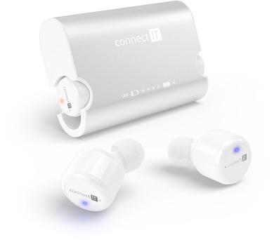 CONNECT IT True Wireless HYPER-BASS Bluetooth sluchátka do uší s mikrofonem