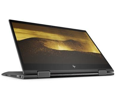 """HP Envy x360 15-cp0003nc/ Ryzen 7-2700U/ 8GB DDR4/ 128GB SSD + 1TB (7200)/ RX Vega 10/ 15,6"""" FHD IPS Touch/ W10H/ černý (4YC90EA#BCM)"""