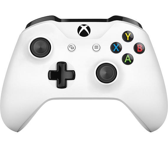 XBOX ONE Bezdrátový ovladač bílý Microsoft