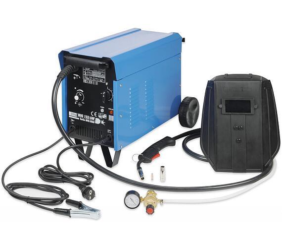 Svářečka MIG 155/6 W pro svařování v ochranné atmosféře GÜDE