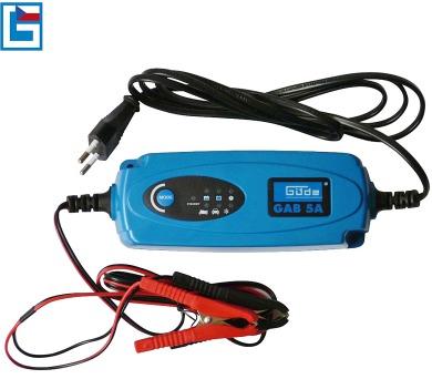 Automatická nabíječka baterií GAB 5 A GÜDE