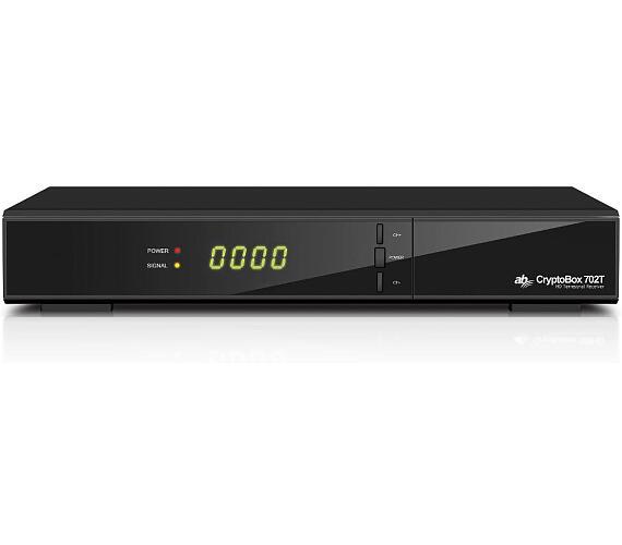 Set-top box AB Cryptobox 702T + DVB-T2 OVĚŘENO