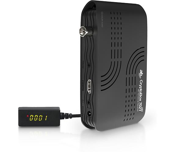 AB CryptoBox 702T mini HD + DVB-T2 OVĚŘENO