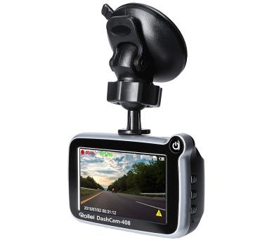 """Rollei digitální kamera do auta/ CarDVR-408/ GPS/ 2,7"""" LCD/ FULL HD (40137)"""