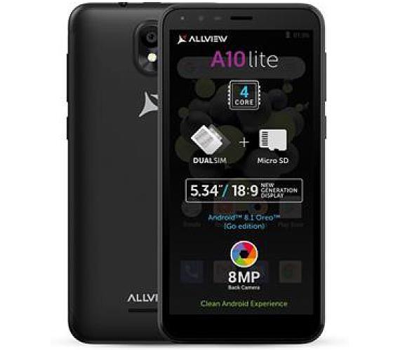 Allview A10 Lite DS gsm tel. Black + DOPRAVA ZDARMA