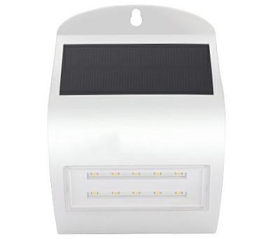 IMMAX venkovní solární LED osvětlení s čidlem/ 3W/ 4000K/ 350lm/ IP65/ bílé (08444L)