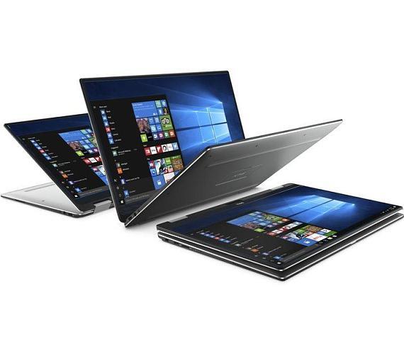"DELL Ultrabook XPS 13 (9365)/i5-8200Y/8GB/256GB SSD/Intel HD/13.3"" FHD Touch/Win 10 Pro/FPR/silver ("