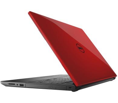 Dell Inspiron 3576 15 HD i3-7020U/4GB/1TB/520-2GB/MCR/HDMI/DVD/W10/2RNBD/Červený (N-3576-N2-317R)