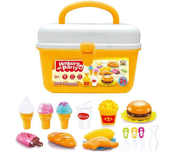 G21 Hamburger a zmrzlina v kufříku
