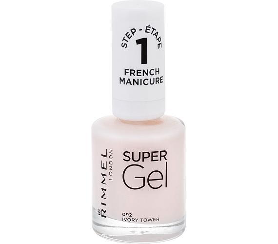 Lak na nehty Rimmel London Super Gel French Manicure