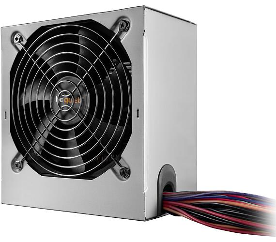 Be quiet! / zdroj SYSTEM POWER B9 450W / active PFC / 120mm fan / 80PLUS Bronze / bulk (BN208)