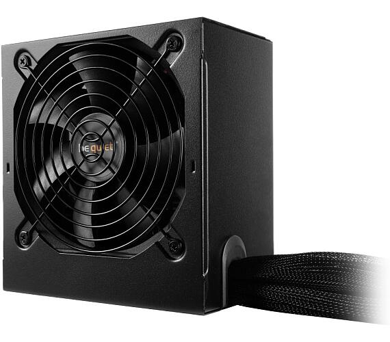 Be quiet! / zdroj SYSTEM POWER B9 600W / active PFC / 120mm fan / 80PLUS Bronze / bulk (BN209)