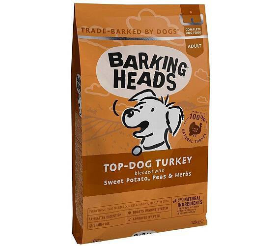 Barking Heads Top Dog Turkey 12kg + DOPRAVA ZDARMA