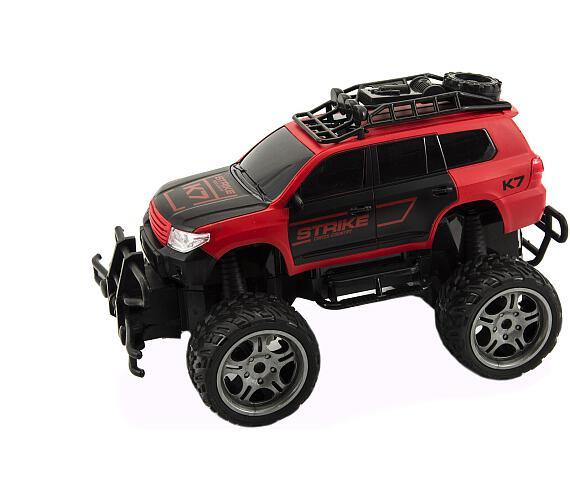 Auto RC terénní plast 30cm na dálkové ovládání na baterie v krabici 37x20x19cm + DOPRAVA ZDARMA