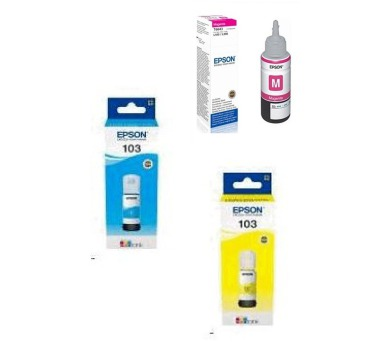 Epson 103 (C13T00S24A) + (C13T00S34A) + (C13T00S44A) + DOPRAVA ZDARMA