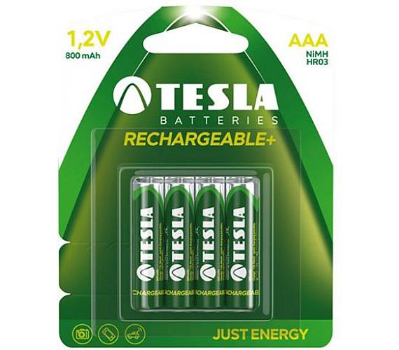 TESLA nabíjecí baterie AAA Ni-MH 800mAh (HR03