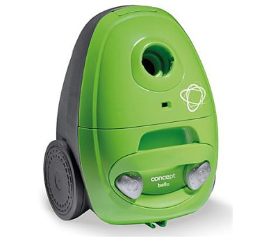 Concept VP8351 Sáčkový vysavač Bello zelený 700 W + DOPRAVA ZDARMA