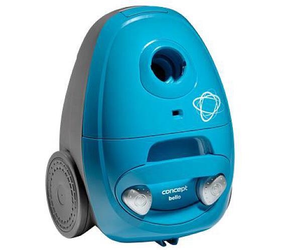 Concept VP8352 Sáčkový vysavač Bello modrý 700 W + DOPRAVA ZDARMA