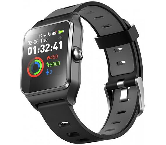 "UMAX chytré hodinky U-Band P1 PRO/ 1,3"" IPS/ Bluetooth 4.2/ MTK2511/ GPS/ ATM50/ iOS 8.0 +/ Android 4.3 +/ černé (UB521)"