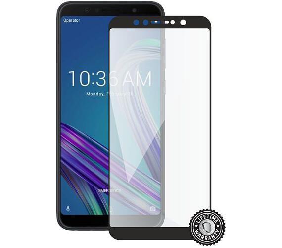Screenshield ASUS Zenfone Max Pro ZB602KL Tempered Glass protection (full COVER black) (ASU-TG25DBZB602KL-D)