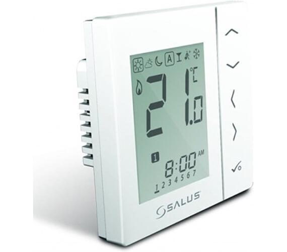 Termostat programovatelný digitální týdenní bílý 230V SALUS VS30W + DOPRAVA ZDARMA