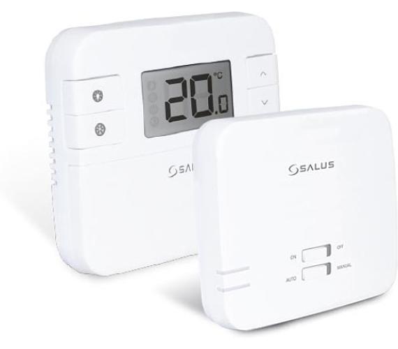 Termostat bezdrátový digitální manuální SALUS RT310RF + DOPRAVA ZDARMA