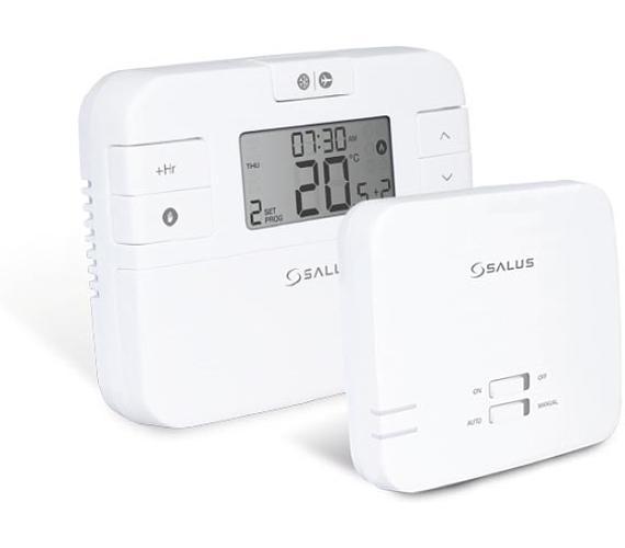 Termostat bezdrátový programovatelný týdenní SALUS RT510RF + DOPRAVA ZDARMA
