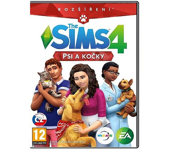 Hra pro PC Electronic Arts THE SIMS 4 CATS & DOGS CZ/SK