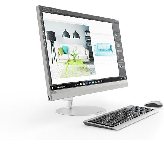 "Lenovo IdeaCentre AIO 520 27""QHD/I5-8400T/8GB/1TB/INT/DVD/W10 stříbrný (F0DE0067CK) + DOPRAVA ZDARMA"