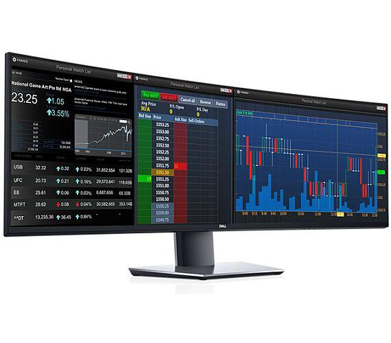 "Dell UltraSharp U4919DW/LCD 49""/8ms/1000:1/2xHDMI/DP/USB 3.0/USB-C/DQHD(5120x1440)/IPS panel/cerny (210-ARGK)"