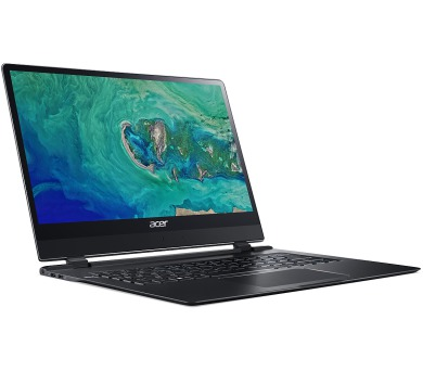"""Acer Swift 7 (SF714-51T-M1VD) i7-7Y75/8GB+N/256 GB SSD+N/A/HD Graphics/14"""" FHD IPS Touch/BT/W10 Home/Black (NX.GUJEC.002)"""