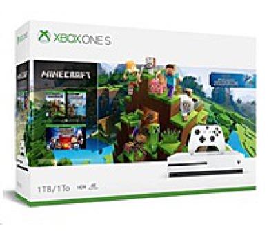 XBOX ONE S 1TB + Minecraft (234-00514)
