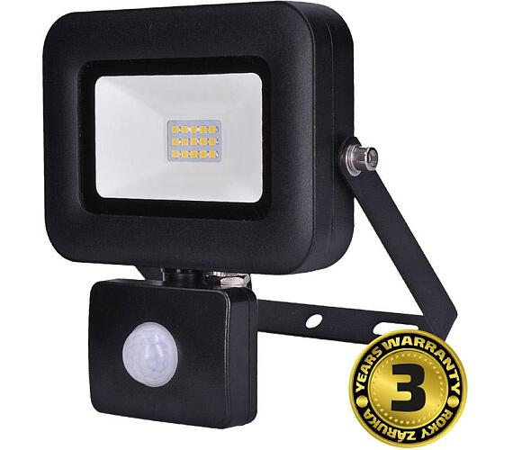 LED reflektor PRO s čidlem pohybu 10W černý