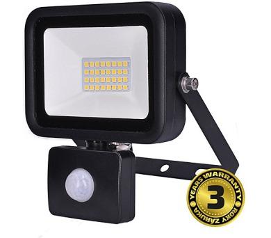 LED reflektor PRO s čidlem pohybu 30W černý,2550lm